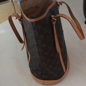 Authentic LV Bucket Bag.